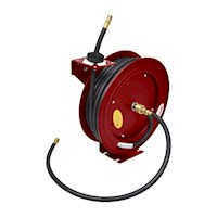 Manually Retractable Wall Mount Air Hose & Reel 15m
