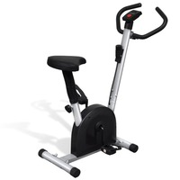 Spin Stationary Exercise Bike w/ Adjustable Seat