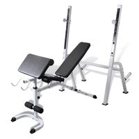 Multi Workout Steel Exercise & Weights Bench Unit