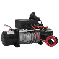 4x4 Electric Winch 12V w/ Remote Control 13000lbs