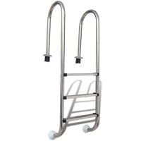 Stainless Steel Swimming Pool Ladder with 3 Steps
