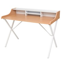 MDF Wood Home Office Computer Desk with Iron Legs