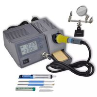 Digital Soldering Iron Station with Accessories 48W