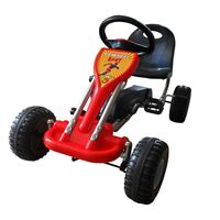 Kids Ride On Car Push and Pedal Go Kart in Red
