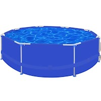 Above Ground Swimming Pool w/ Steel Frame 300x76cm