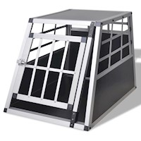 Lightweight Dog Carrier Transport Cage 54x69x50cm