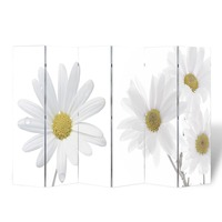 6 Panel Flowers Dual Sided Room Divider 240x180cm