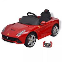 Kids Electric Ride On Car Ferrari F12 w RC in Red