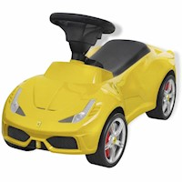 Licensed Ferrari 458 Kid's Ride On Car in Yellow