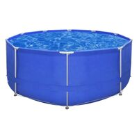 Above Ground Swimming Pool w/ Steel Frame 367x122cm