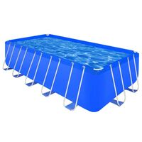 Rectangle Above Ground Swimming Pool 540x270x122cm