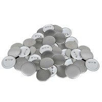 500 Set of Plastic Pinback Button Badge Parts 25mm