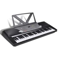 54 Key LED Electric Piano Keyboard with Music Stand