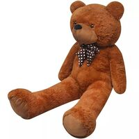 Giant Soft Plush Teddy Bear Stuffed Toy Brown 175cm
