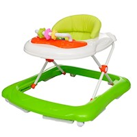 Baby Walker Activity Centre with 12 Songs in Green