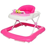 Baby Walker Activity Centre with 12 Songs in Pink