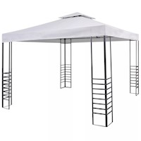 Outdoor Portable Gazebo Event Marquee in White 3x3m