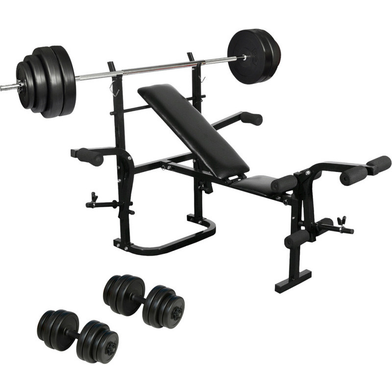 Folding Dumbbell Weight Bench W Barbell Plates Buy Weight Benches