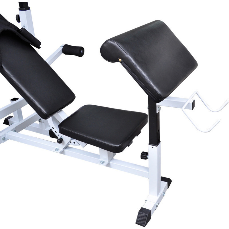 Home Gym Equipment Steel Weight Bench In Black Buy Weight Benches