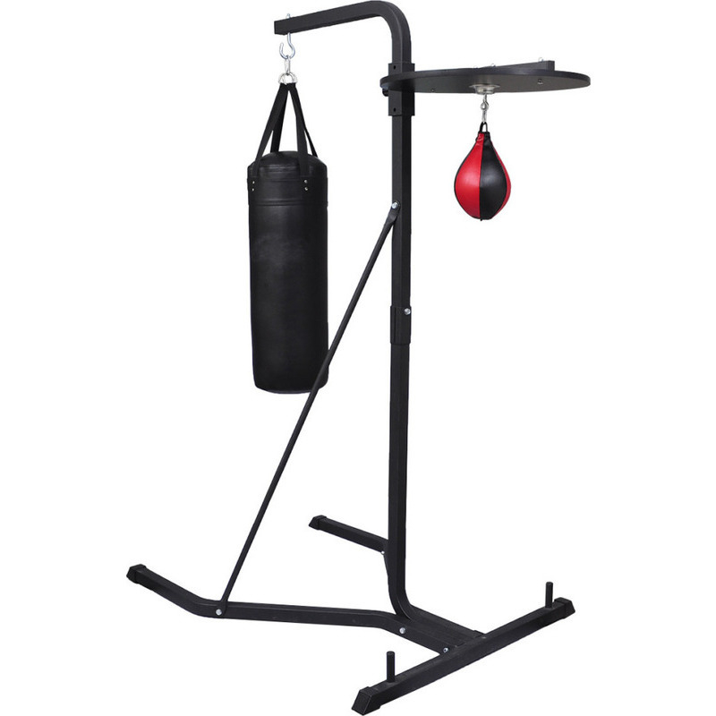 steel frame punching bag stand with speed ball buy. Black Bedroom Furniture Sets. Home Design Ideas