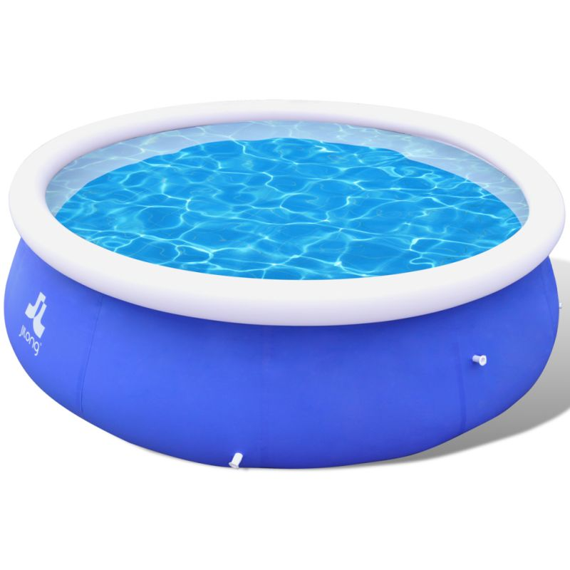 Inflatable swimming pool in blue pvc 300x76cm 3618l buy for Buy swimming pool