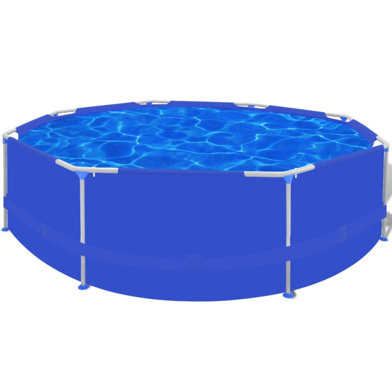Above Ground Swimming Pool W Steel Frame 300x76cm Buy Swimming Pools