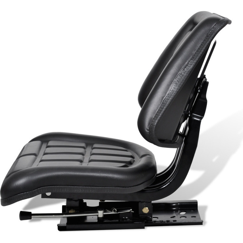 Cloth Tractor Seats : Waterproof sliding fabric tractor seat w backrest buy