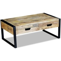 baltimore cane glass coffee table in brown 90cm buy coffee tables. Black Bedroom Furniture Sets. Home Design Ideas