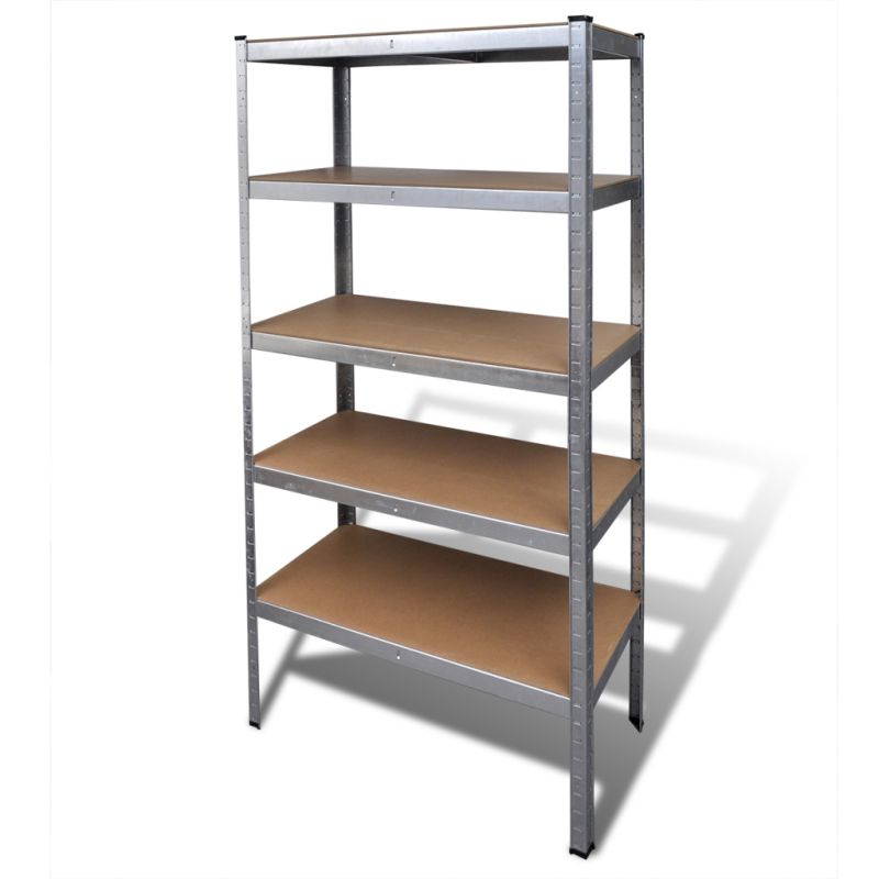 MDF Adjusting Steel Frame Garage Storage Shelf 1.8m | Buy Garage ...