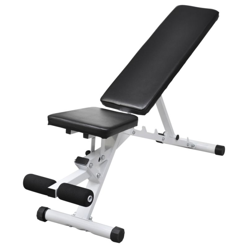 5 Level Pu Leather Adjustable Exercise Bench Black Buy