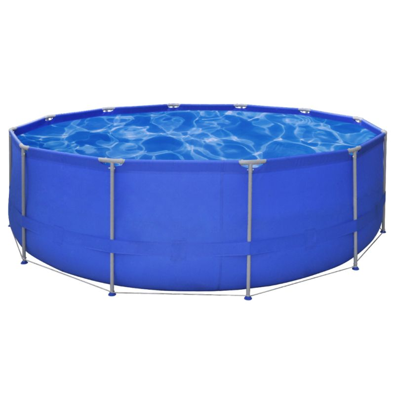 Above ground swimming pool w steel frame 457x122cm buy for Purchase above ground swimming pool