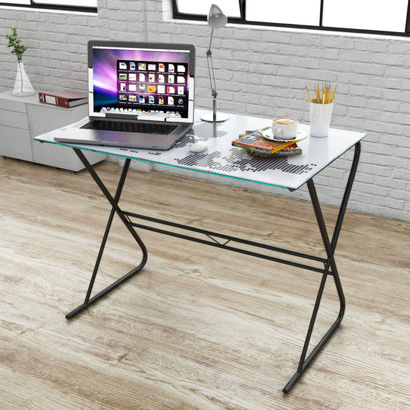 Glass top home office desk w world map pattern 80cm buy desks glass top home office desk w world map pattern 80cm gumiabroncs Image collections