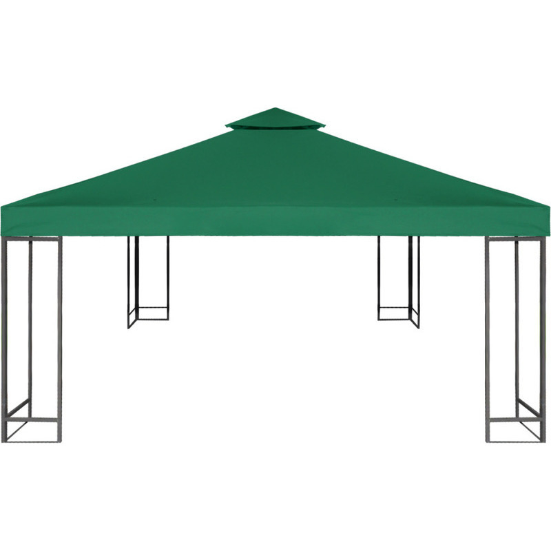 Waterproof Fabric Gazebo Top Cover In Green 3x3m Buy
