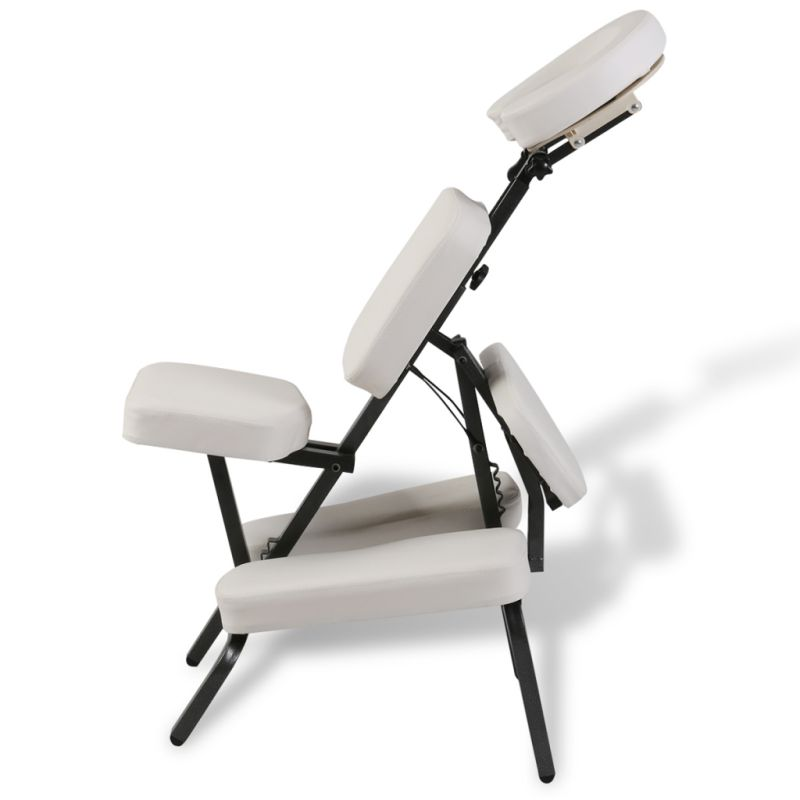 Portable Folding Faux Leather Massage Chair White Buy