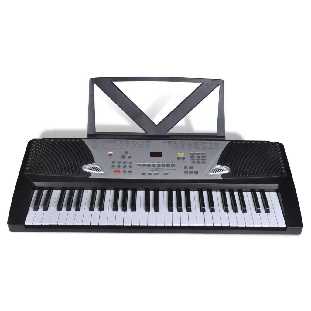 electronic digital piano 54 key keyboard stand classical 12 demo song electric buy digital. Black Bedroom Furniture Sets. Home Design Ideas
