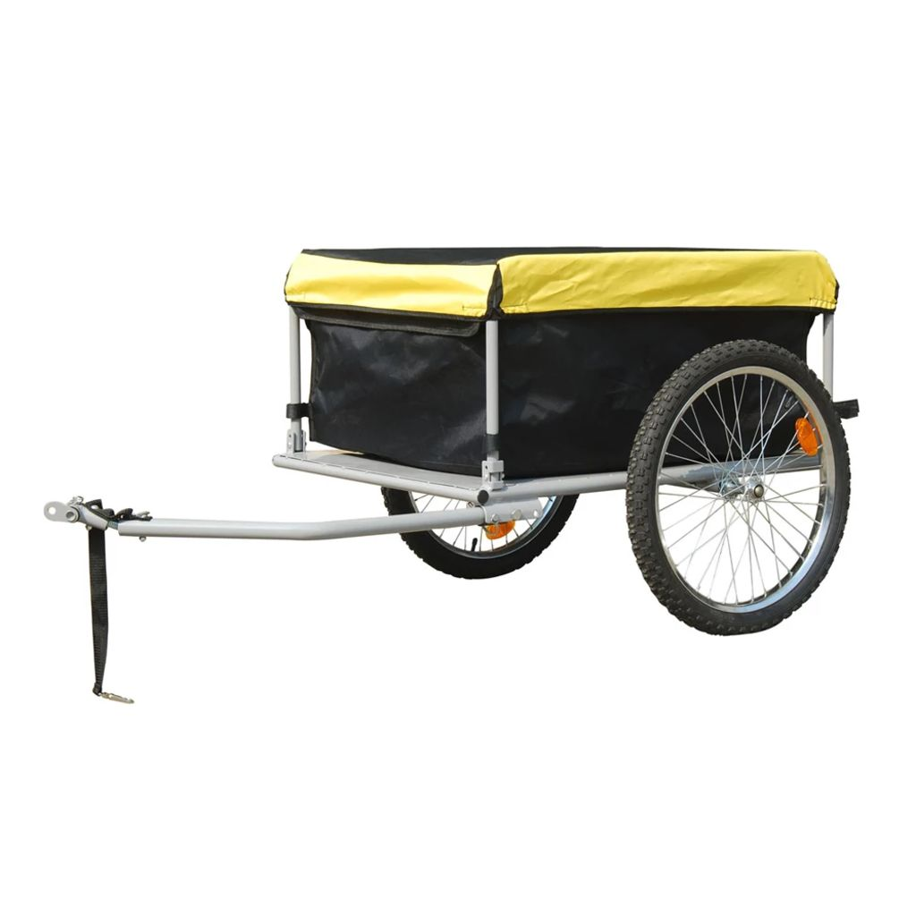 New Foldable Cargo Dog Cat Pet Bicycle Trailer Bike Stroller Luggage