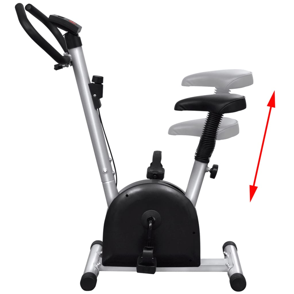 Home Exercise Equipment Bikes: VidaXL Fitness Exercise Bike With Seat Home Gym Training
