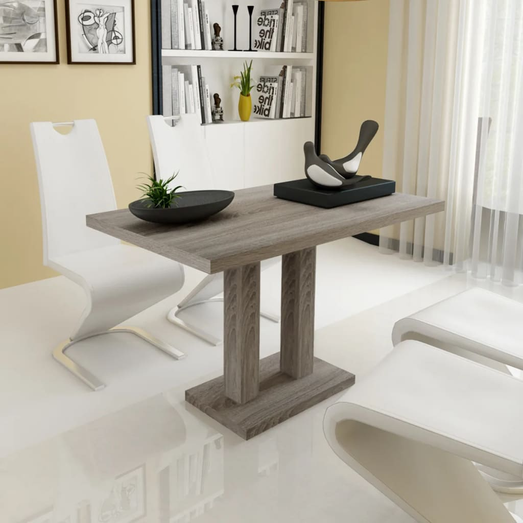 Tremendous New Dining Table Kitchen Furniture Mdf Timber Oak Sticker 120X75Cm Rectangle Home Interior And Landscaping Oversignezvosmurscom