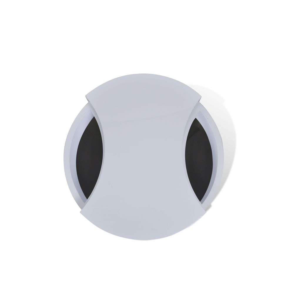New Modern White Coffee Table Side Swivel Office Kitchen