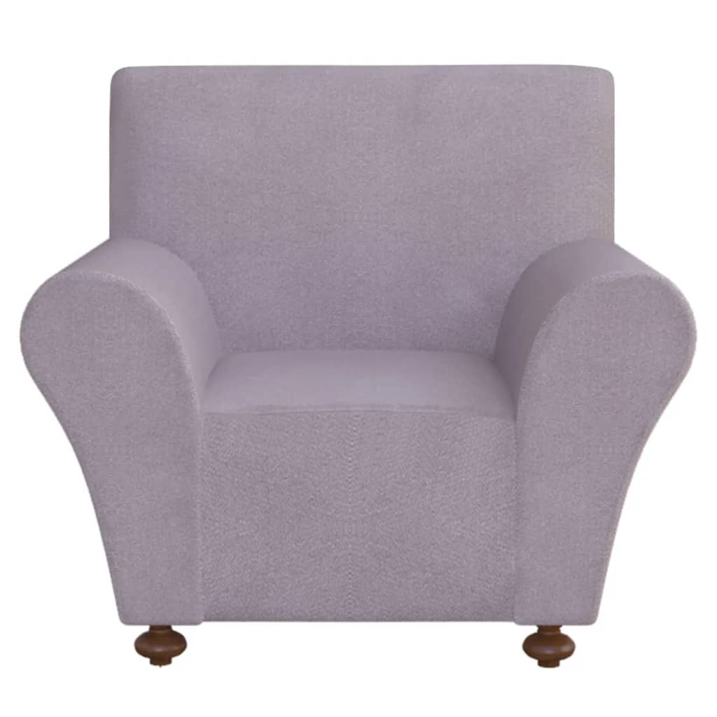 Vidaxl Stretch Couch Slipcover Grey Polyester Jersey