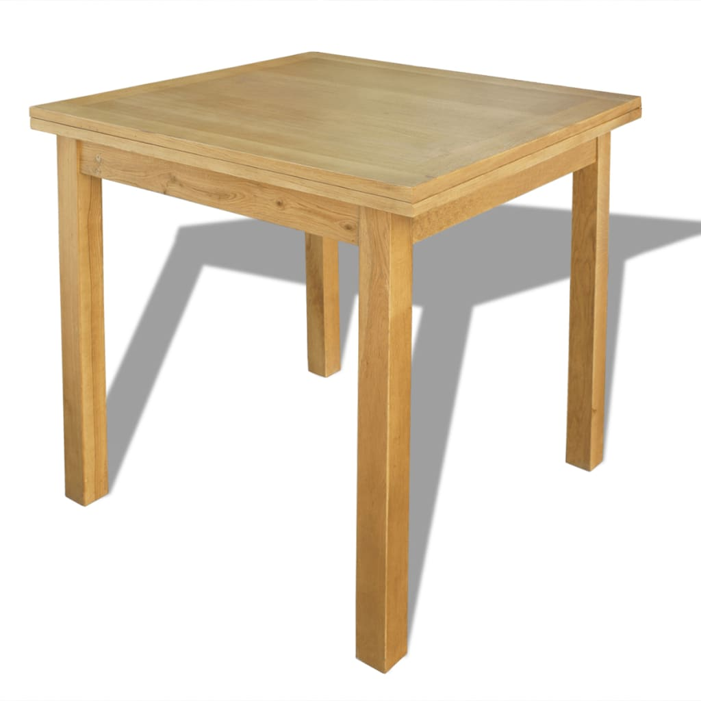 Buy Dining Room Table: VidaXL Oak Wood Extendable Table Kitchen Dining Room