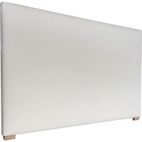 York Double Fabric Upholstered Headboard in Oatmeal