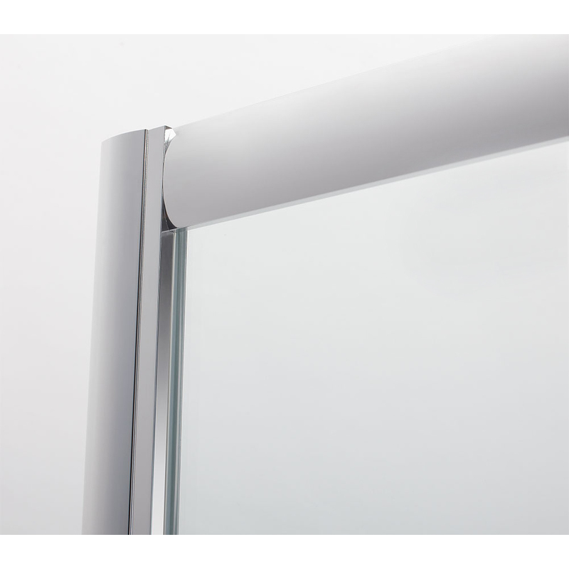 how to put glass shower door wheel back on track