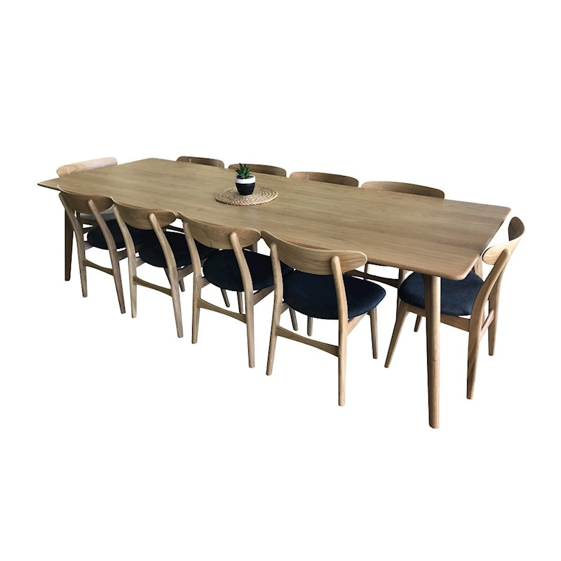 H M S Remaining. Ektra Dining Table Solid American Oak ...