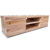 Elwood Tasmanian Oak TV Stand Entertainment Unit 2m