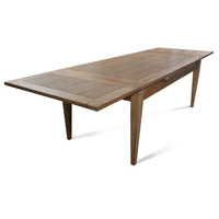 Barossa Oak Wooden Extension Dining Table 2-3.1m