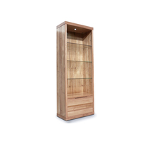 Elwood Medium Tasmanian Oak Bookcase Display Unit
