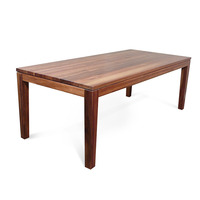 Hamilton Blackwood Rectangle Wood Dining Table 2.2m
