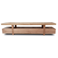 Bondi Oak Wooden TV Stand Entertainment Unit 2.2m