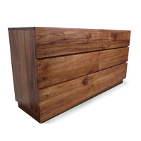 Manhattan Blackwood Wooden Dresser Chest of Drawers